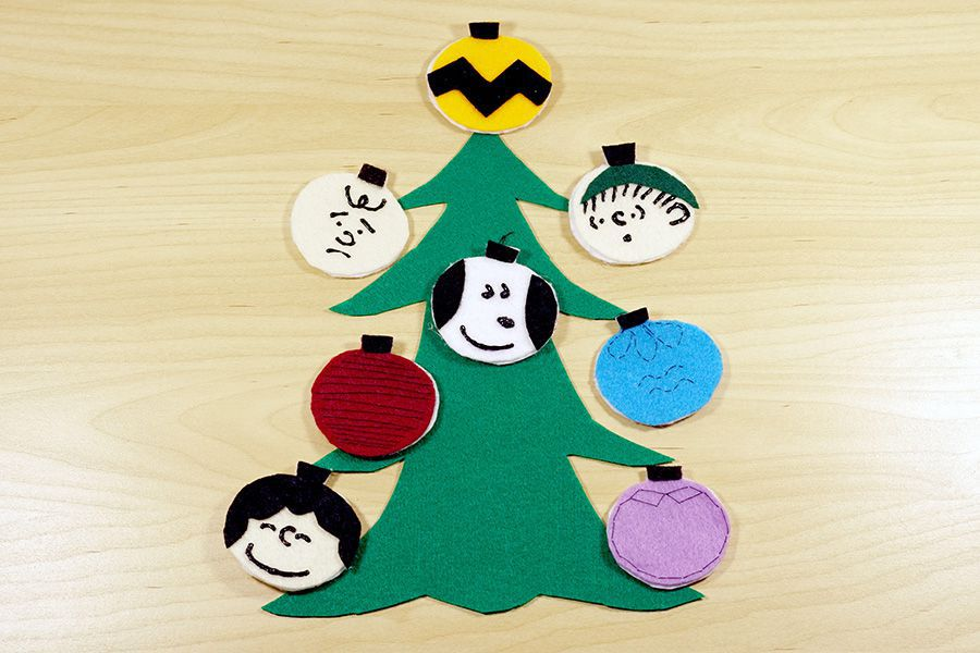 charlie brown christmas tree ornaments