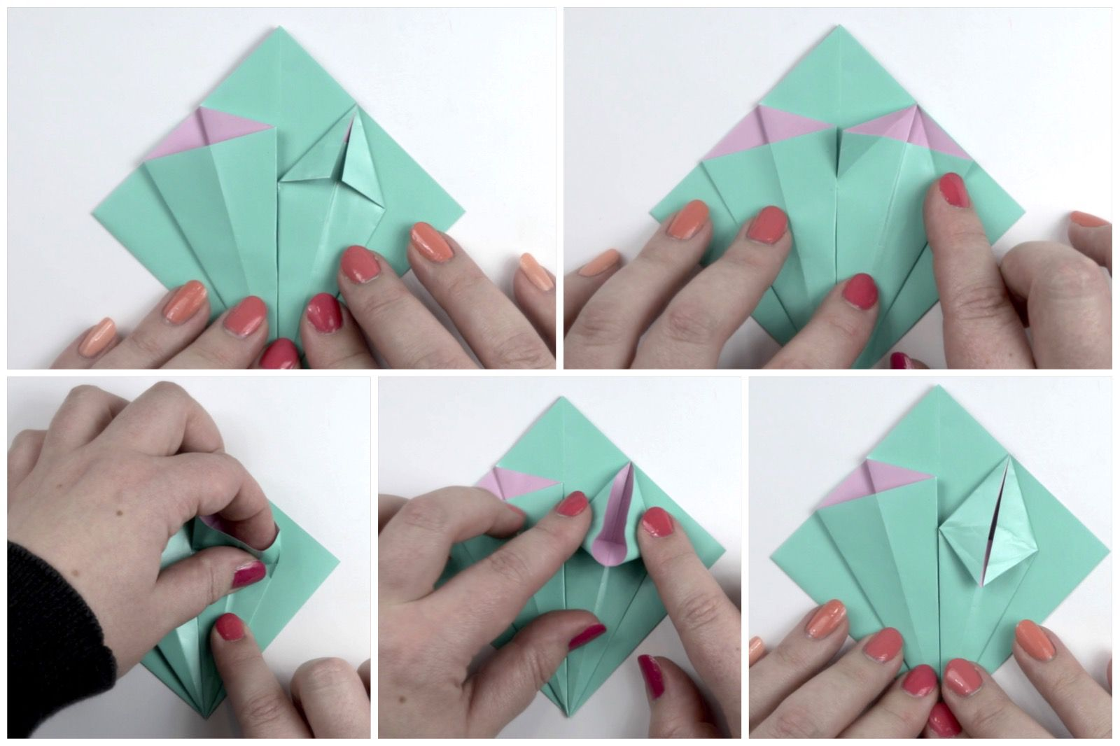 Make an easy origami lily flower mightylinksfo