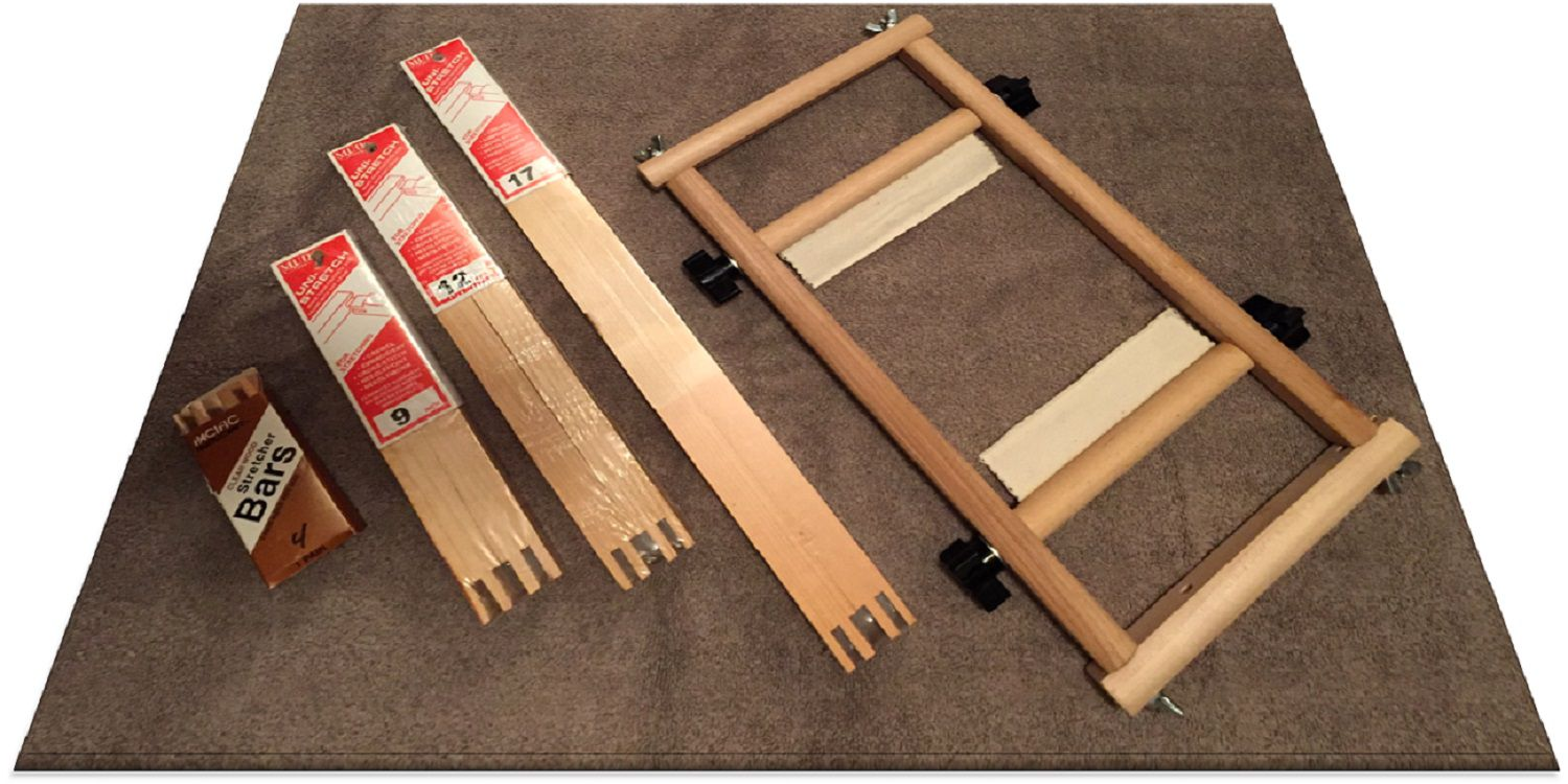 Use Stretcher Bars-Frames to Work a Needlepoint Project
