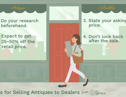 tips for selling antiques to dealers