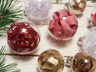 customize clear christmas ornament bulbs in minutes