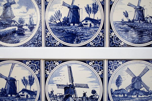 The beauty of Delft pottery in Europe