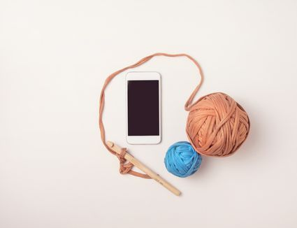 Crochet With iPhone
