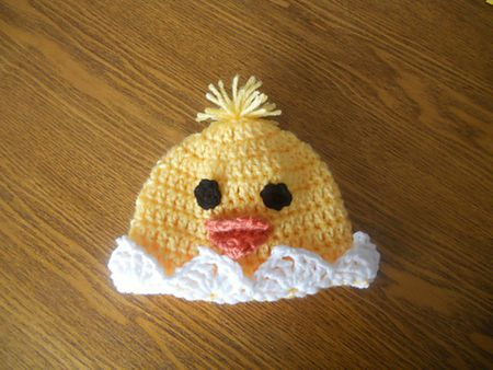 10 Adorable Baby Chick Crochet Hat Patterns For Easter