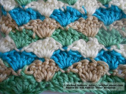 How To Crochet A Shell Stitch Illustrated Tutorial