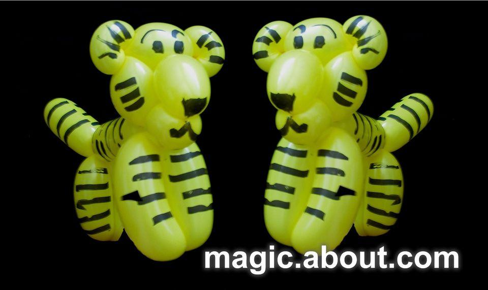The Tiger Balloon Animal