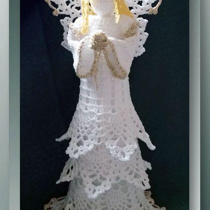 Ravelry: Amigurumi Angel Wings and Halo pattern by Sharon Ojala | 425x425