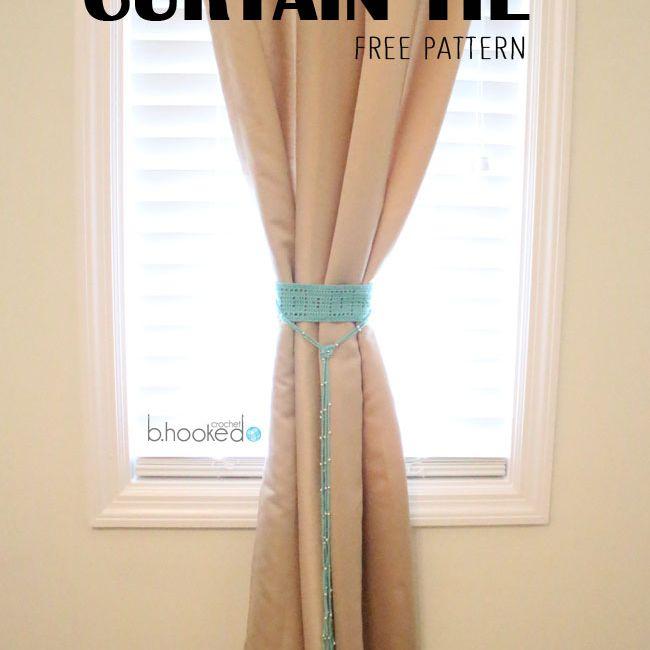Monkey Curtain Tie Backs - Free Downloads - Homemaker Magazine | 650x650