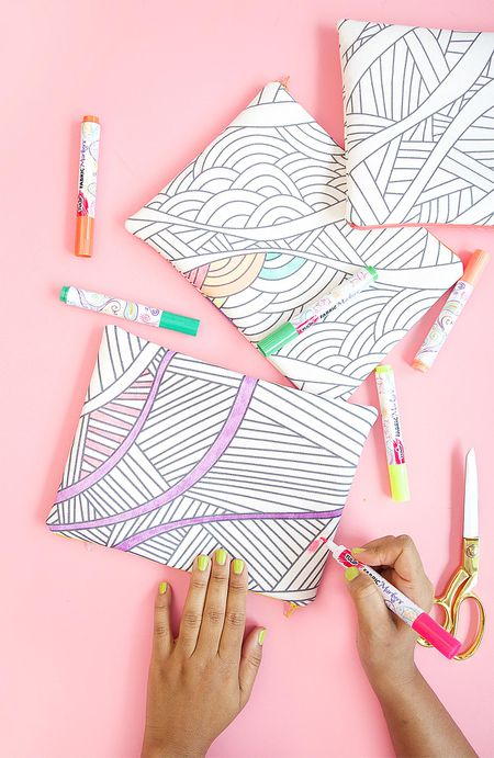 Make Your Own Adult Coloring Book Pages