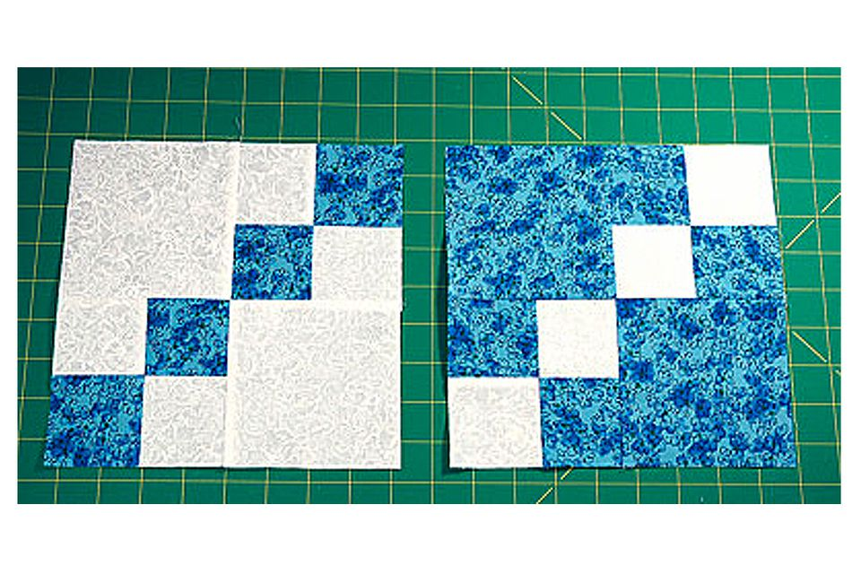 Dual Double Four Patch Quilt Blocks