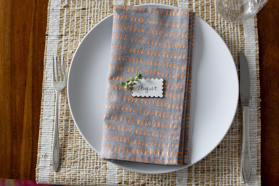 Final napkin