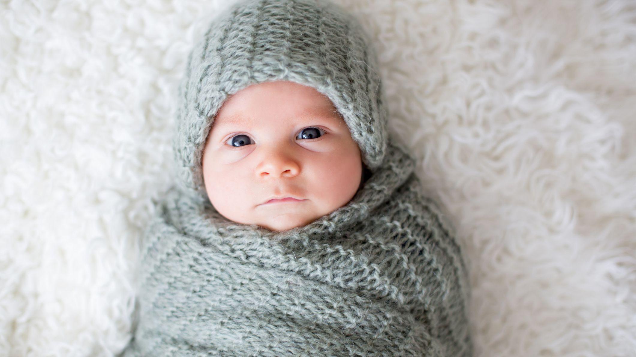 Circumference 14\u201d Crochet Newborn baby hat