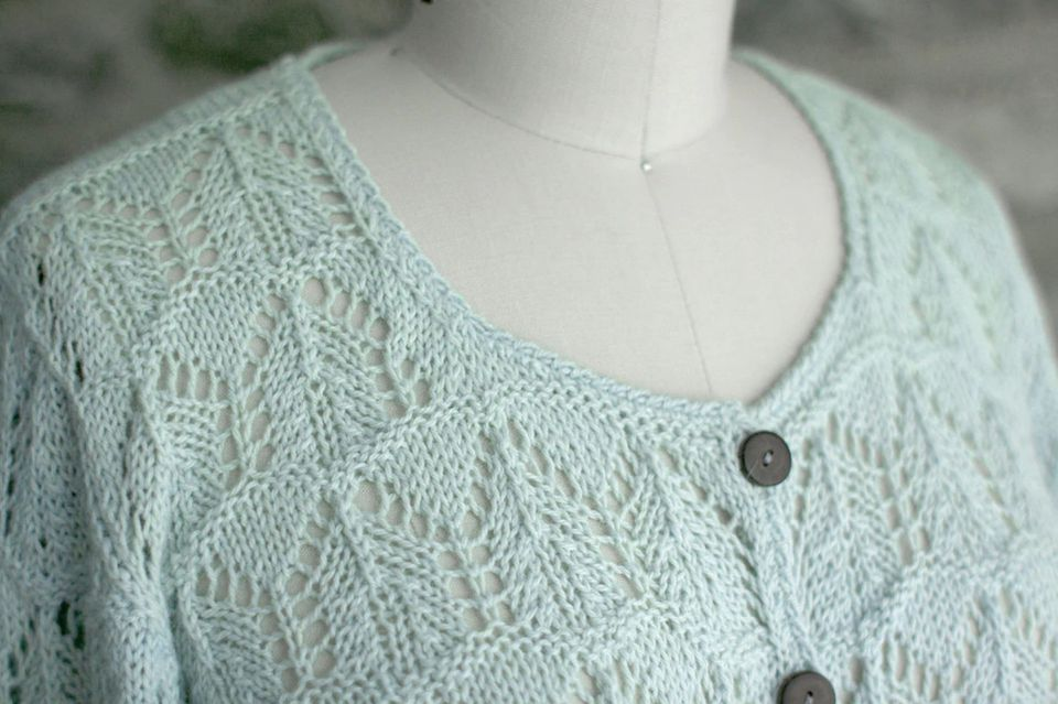 Granita Lace Sweater Pattern