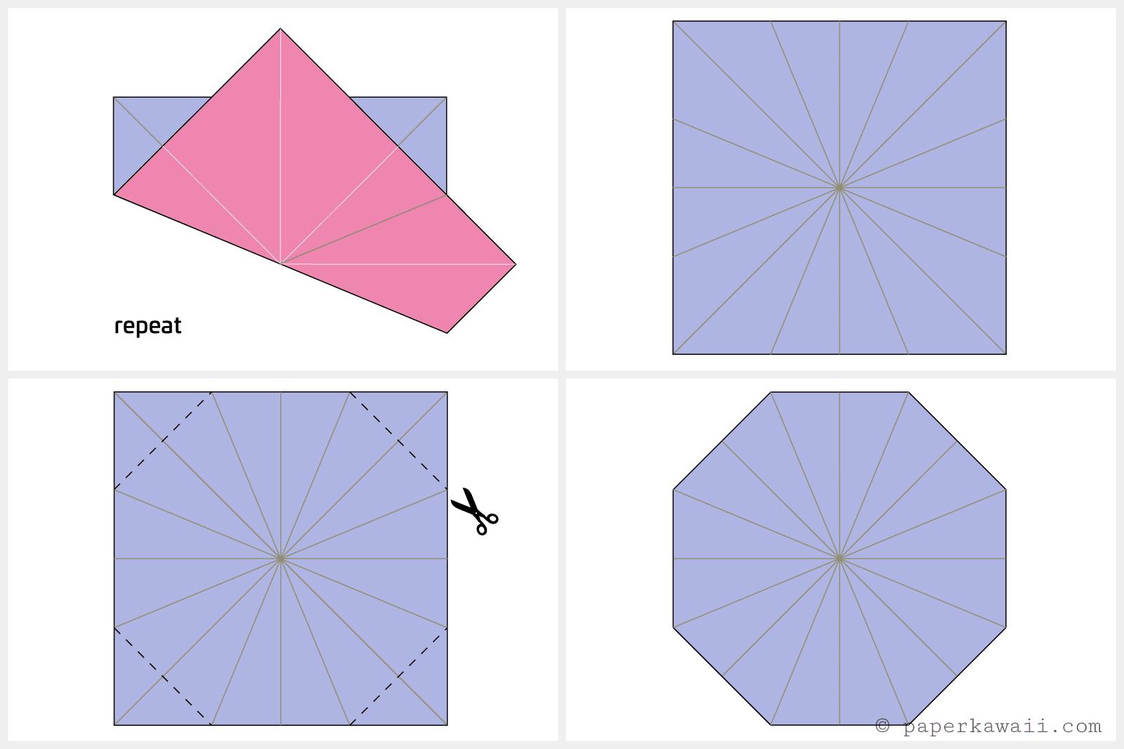 Enjoyable Origami Octagonal Tato Instructions Wiring Digital Resources Funapmognl