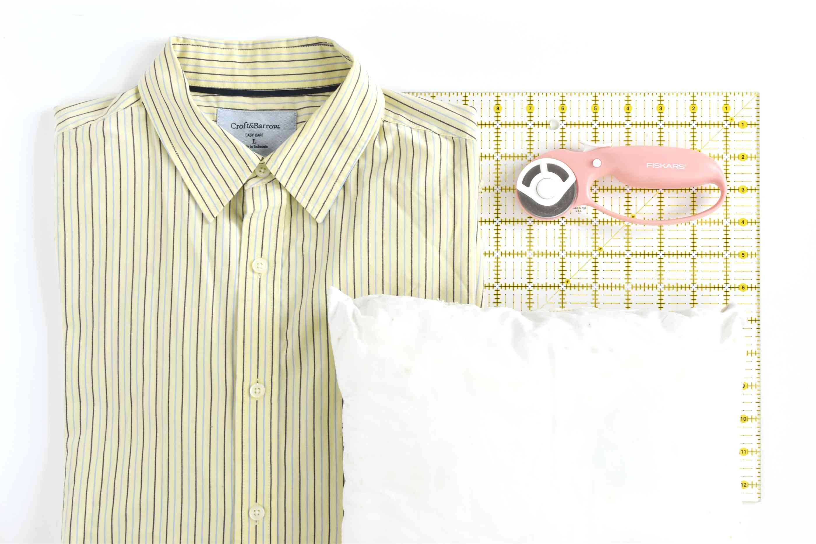 Dress Shirt Pillow Supplies