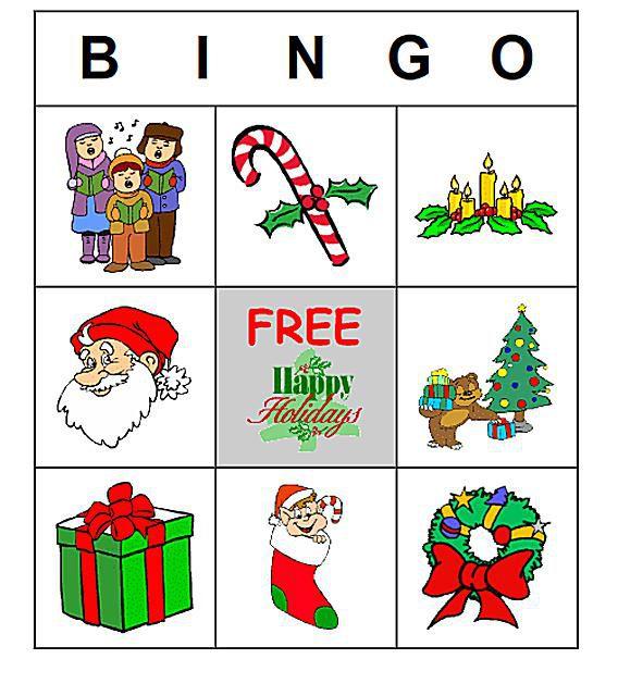 11 free printable christmas bingo games for the family - Free Printable Christmas Bingo Cards