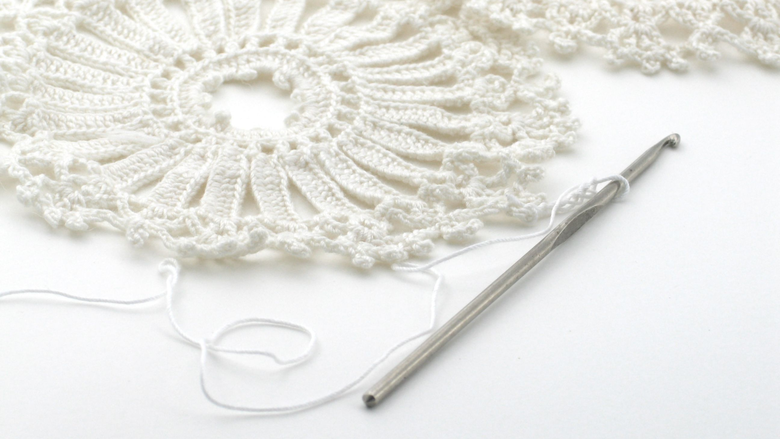 10 Free Thread And Lace Crochet Doily Patterns