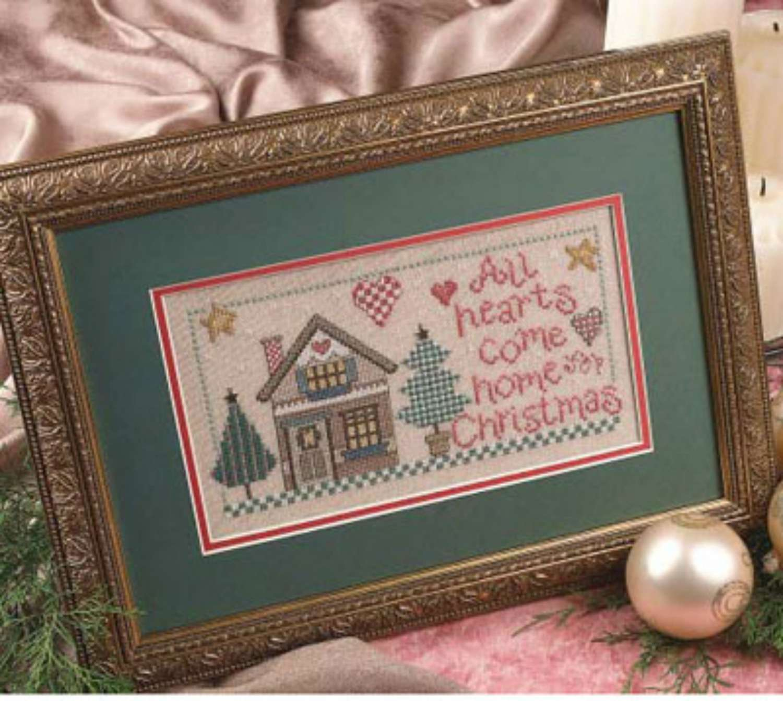 Free Christmas Themed Cross Stitch Patterns
