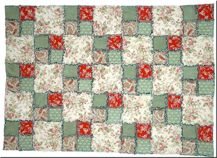 60 Free Rag Quilt Patterns To Help You Make Cuddly Quilts Gorgeous Free Rag Quilt Patterns