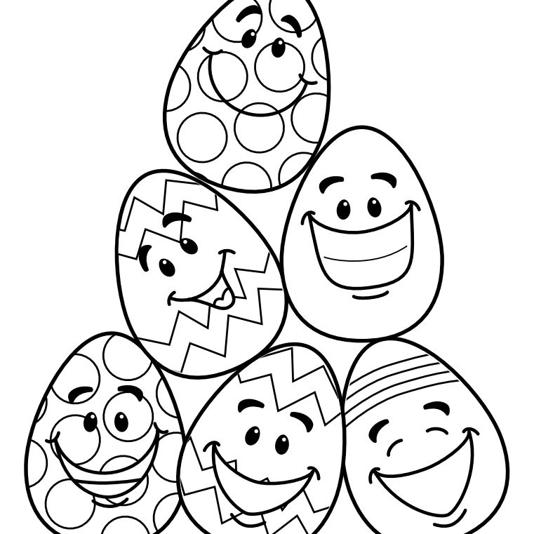 Printable Easter Coloring Pages Coloring Page Marvelous Easter ... | 761x761