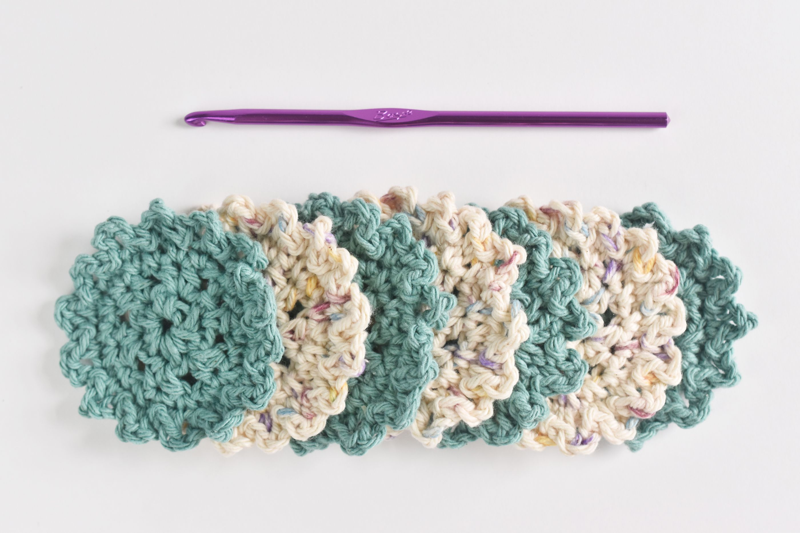 Crochet Dish Scrubbies Pattern Custom Inspiration Design
