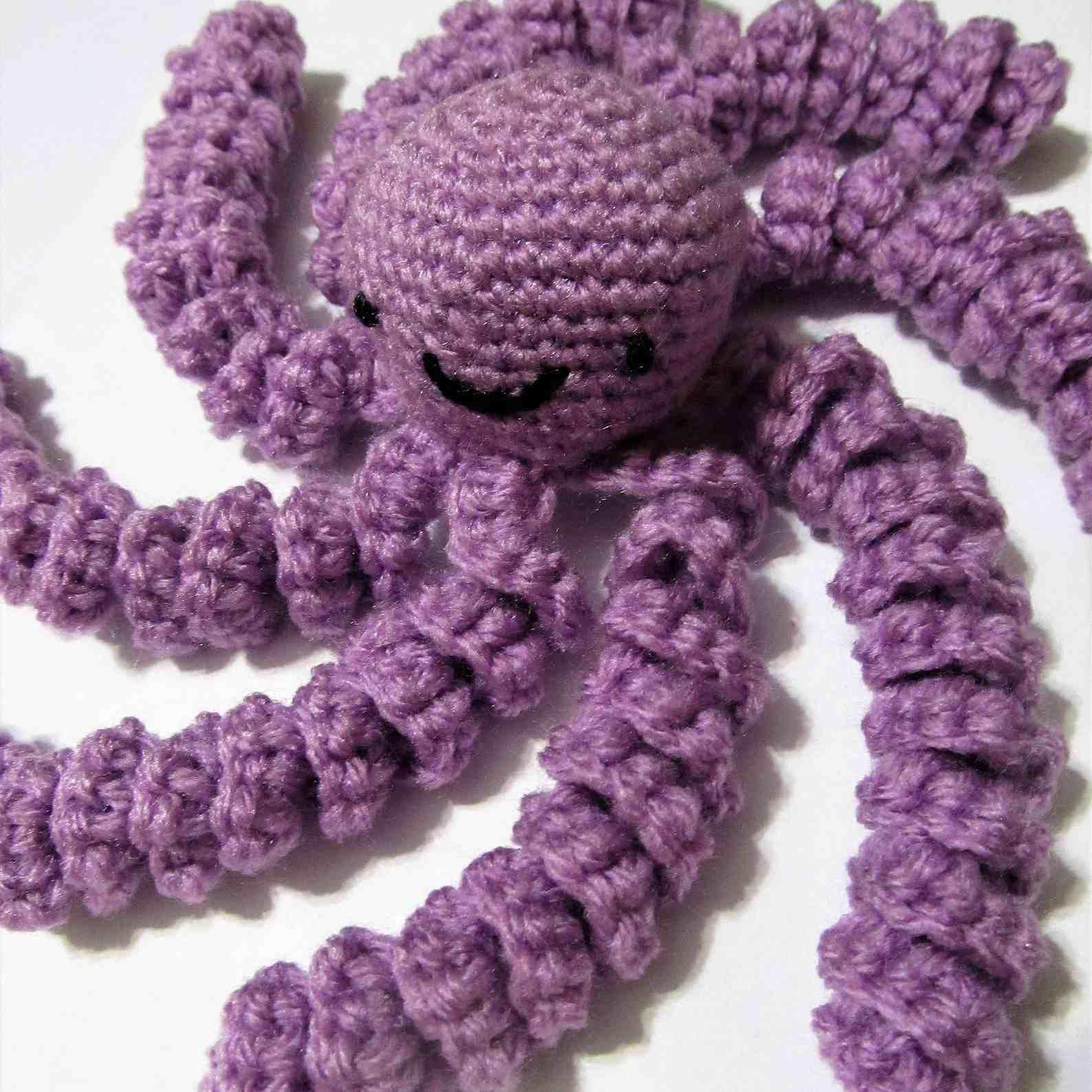 Amigurumi Free Seamless Octopus Pattern - DIY Crochet Tutorial ... | 1588x1588