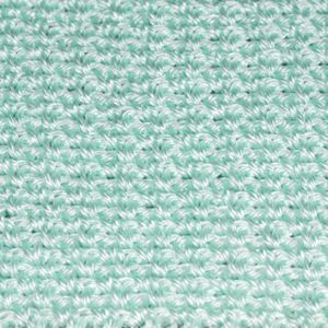 Crochet Moss Stitch, Also Known as Granite Stitch