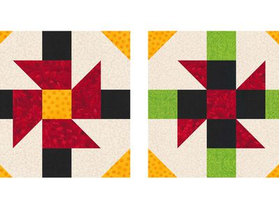 Large Quilt Block Patterns