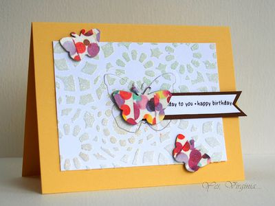 How To Craft With Embossing Paste