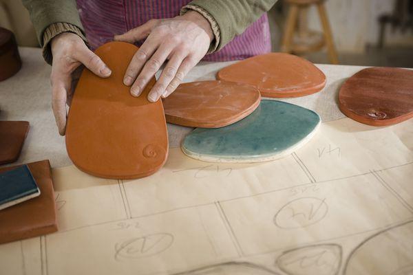 Ceramic stains
