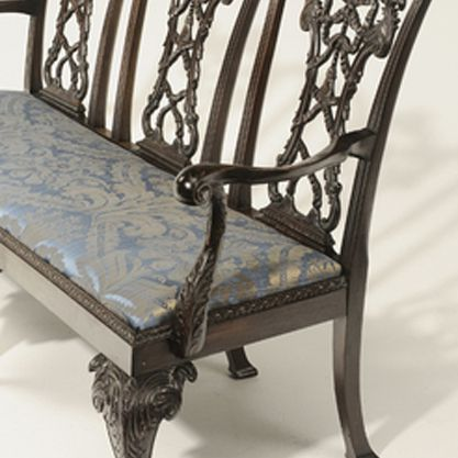 Chair Back Settee
