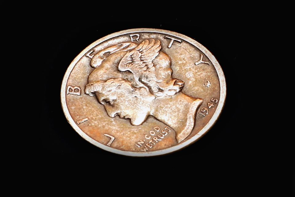 United States winged Liberty head or Mercury dime