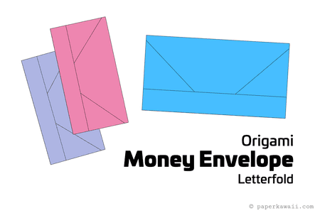 Origami Money Envelope Letter Fold Tutorial