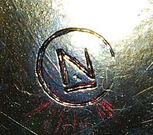 ca. 1908-1923 Northwood Carnival Glass Mark