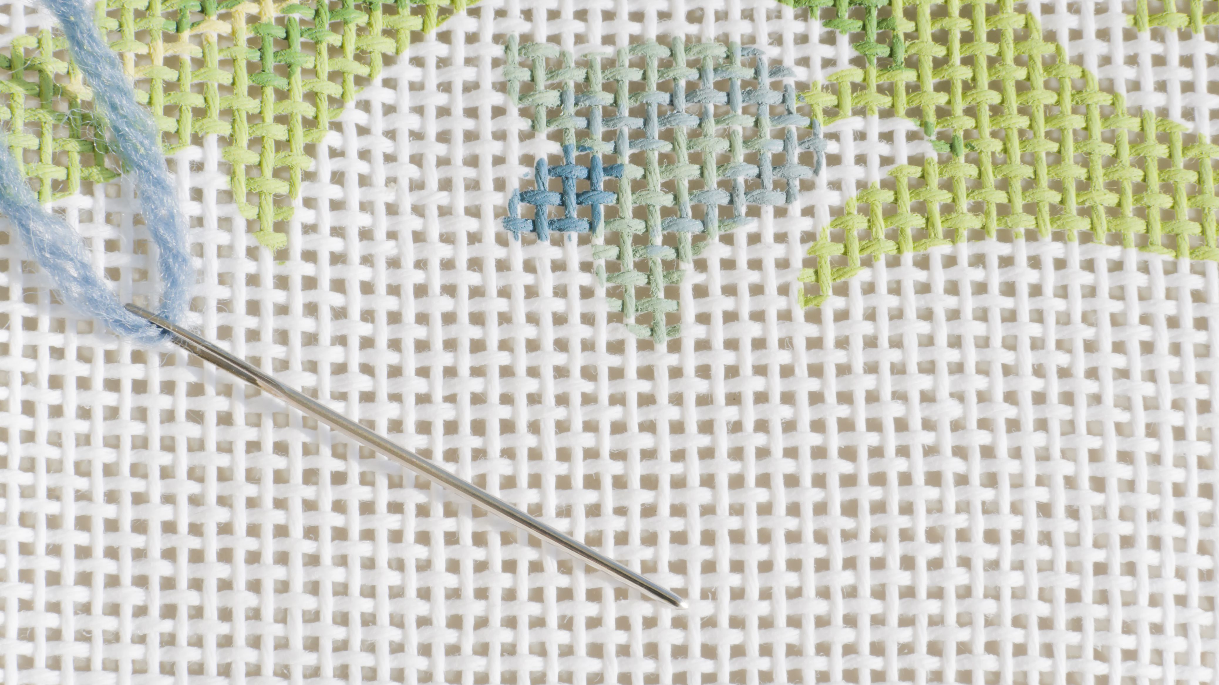 Needlepoint canvas many different patterns