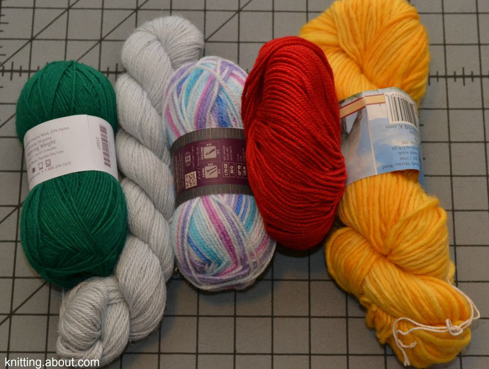 Yarns of Different Weights