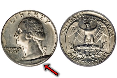 What is a Cud Error on a Coin and What Does One Look like?