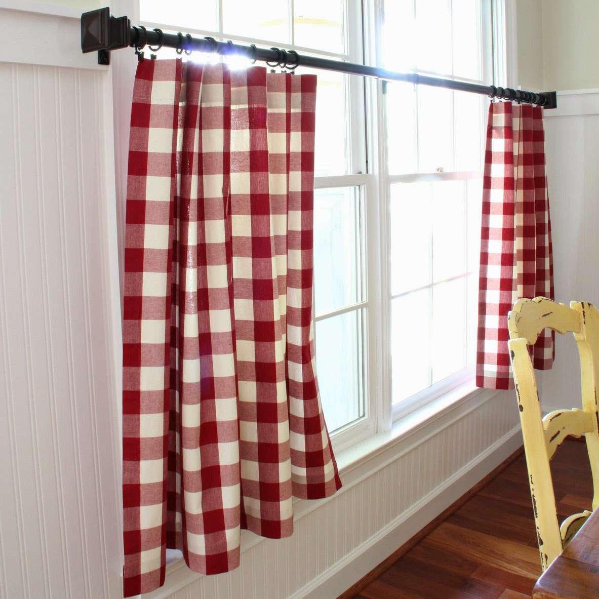 diy no sew cafe curtains