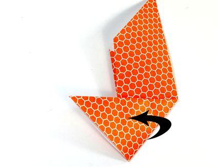 Origami Corner Bookmark Step 5