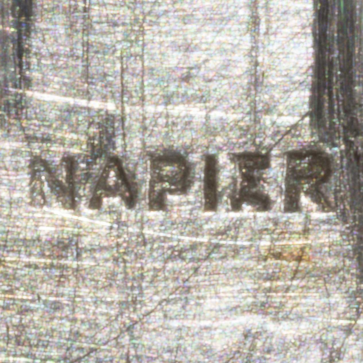 Napier 1920s - 1930s Block Mark