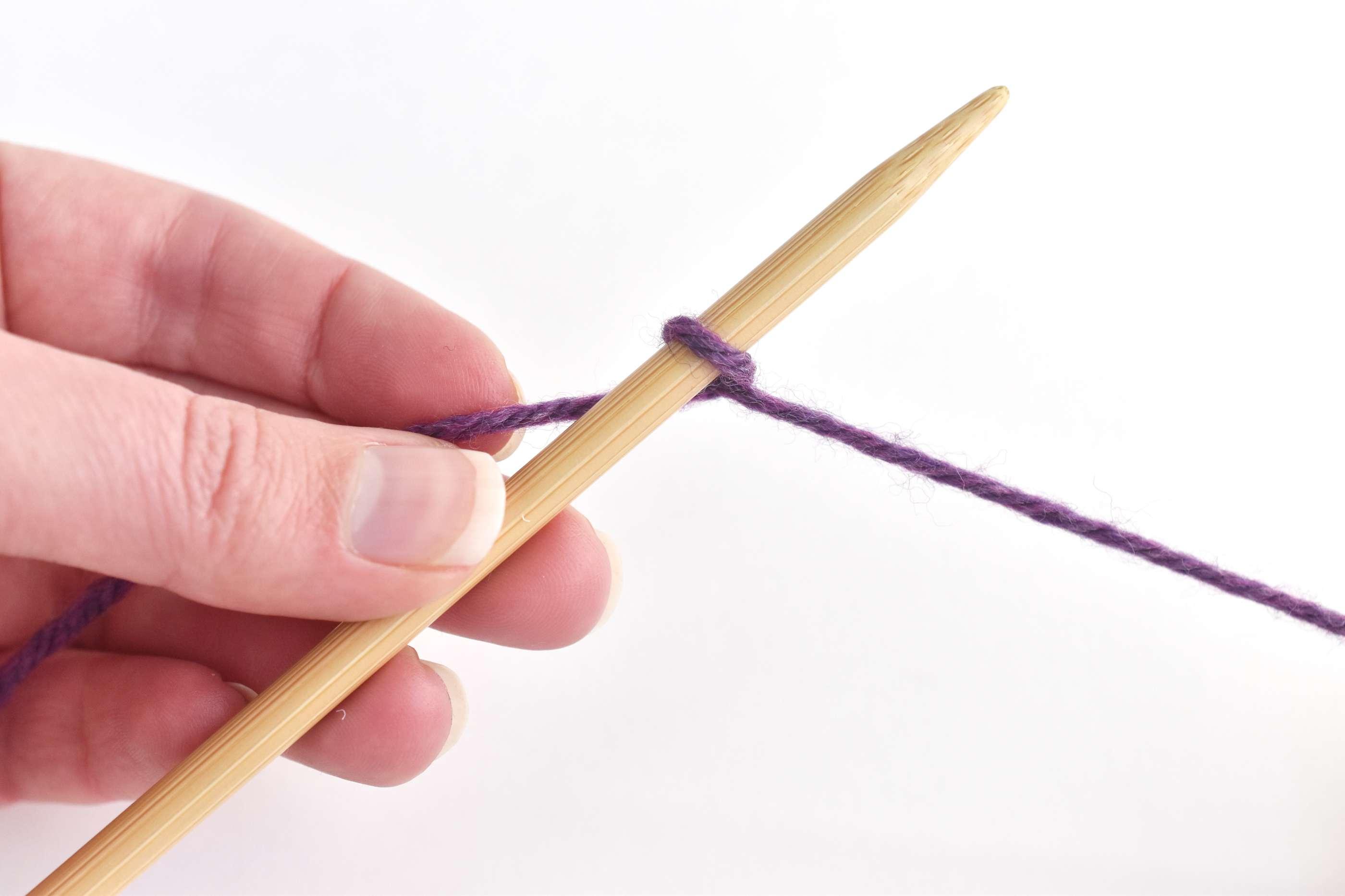 One Stitch on the Needle