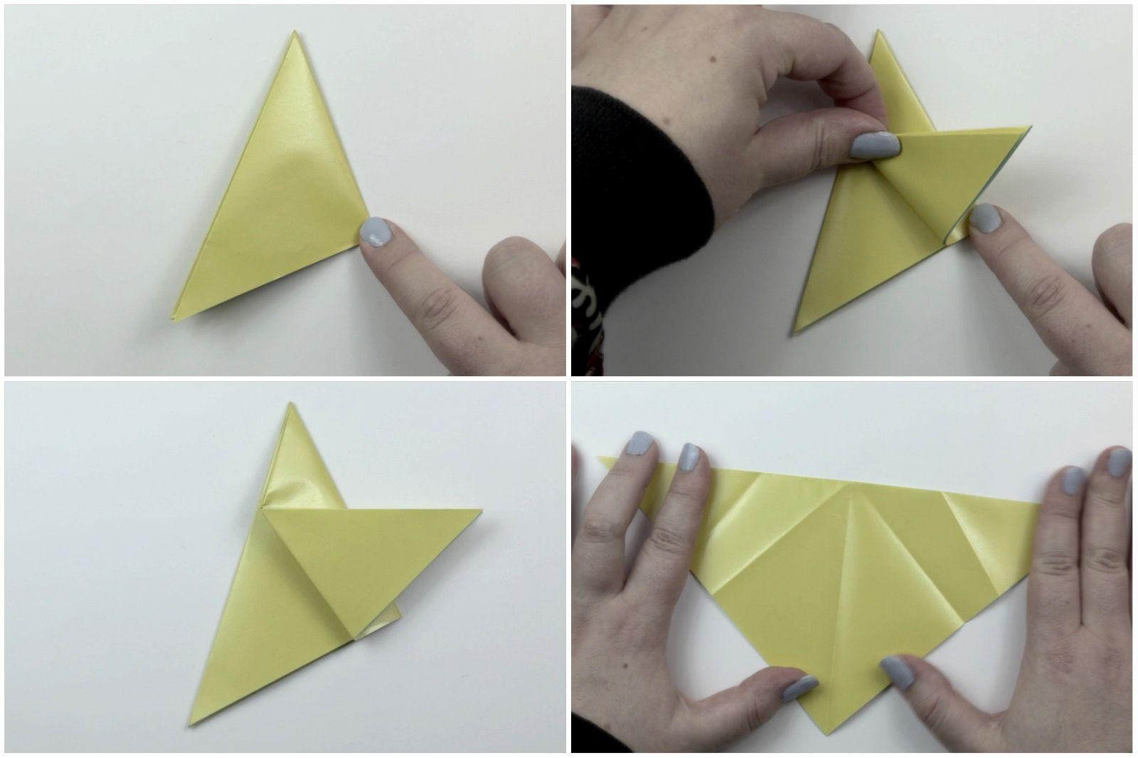 easy origami star tutorial 03