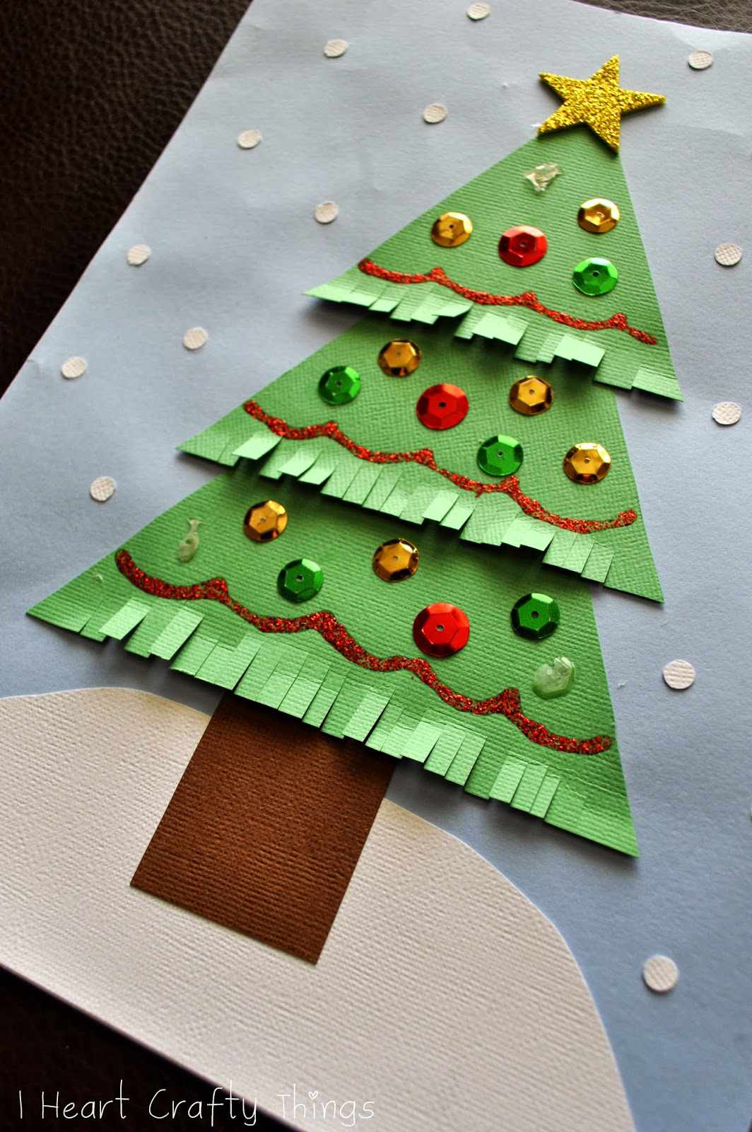 Christmas Tree Cards Ks1.20 Christmas Tree Crafts For Kids