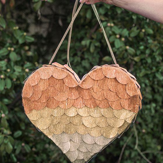 DIY Heart Pinata