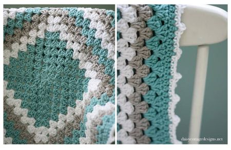 Easy Free Granny Square Crochet Patterns