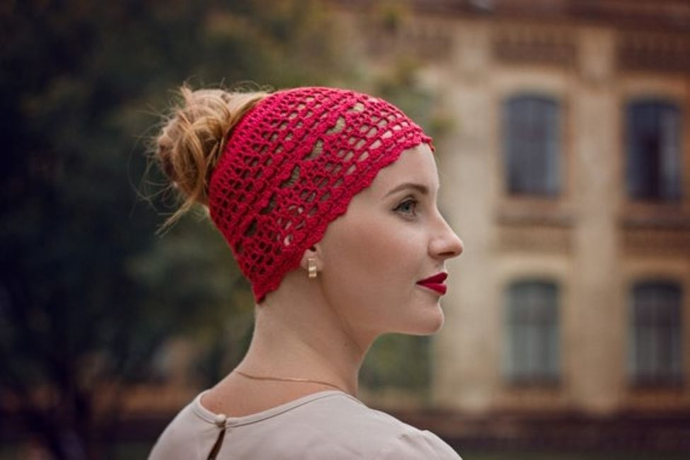 958194fd91c Lace Crochet Beanie for Messy Buns. Sumer Beanie Crochet Hat Pattern