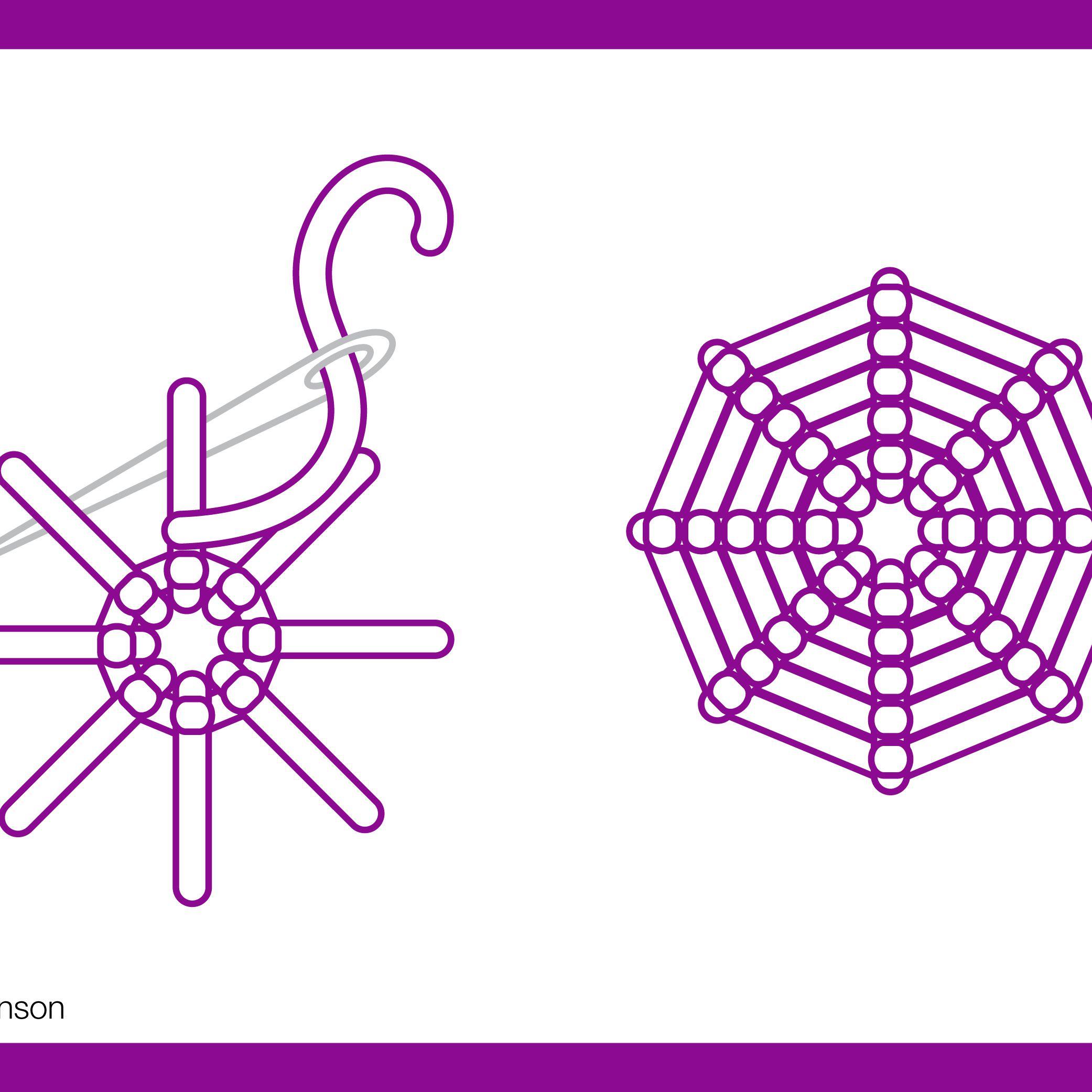 How To Work A Spider Web Stitch