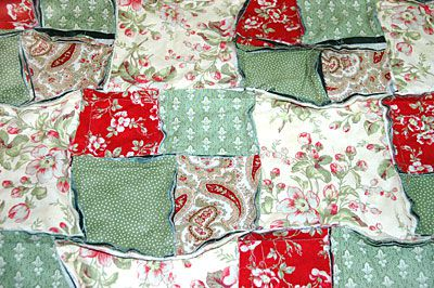 Easy Rag Quilt Pattern