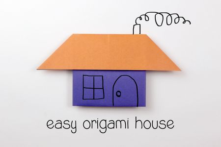 Easy Origami House Instructions