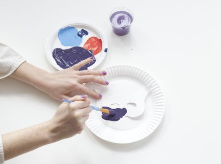 How to make a paper plate mask paper plate masks maxwellsz